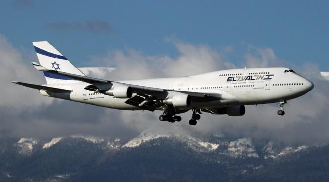EL AL Israel Airlines - Boeing 747-412 - 4X-ELH - 4938 NET