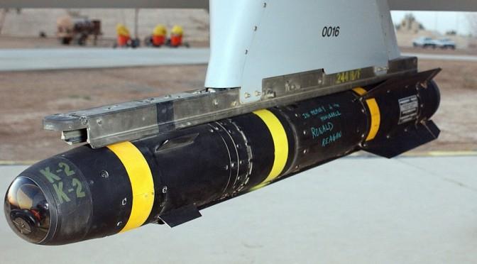AGM-114_Hellfire_hung_on_a_Predator_drone